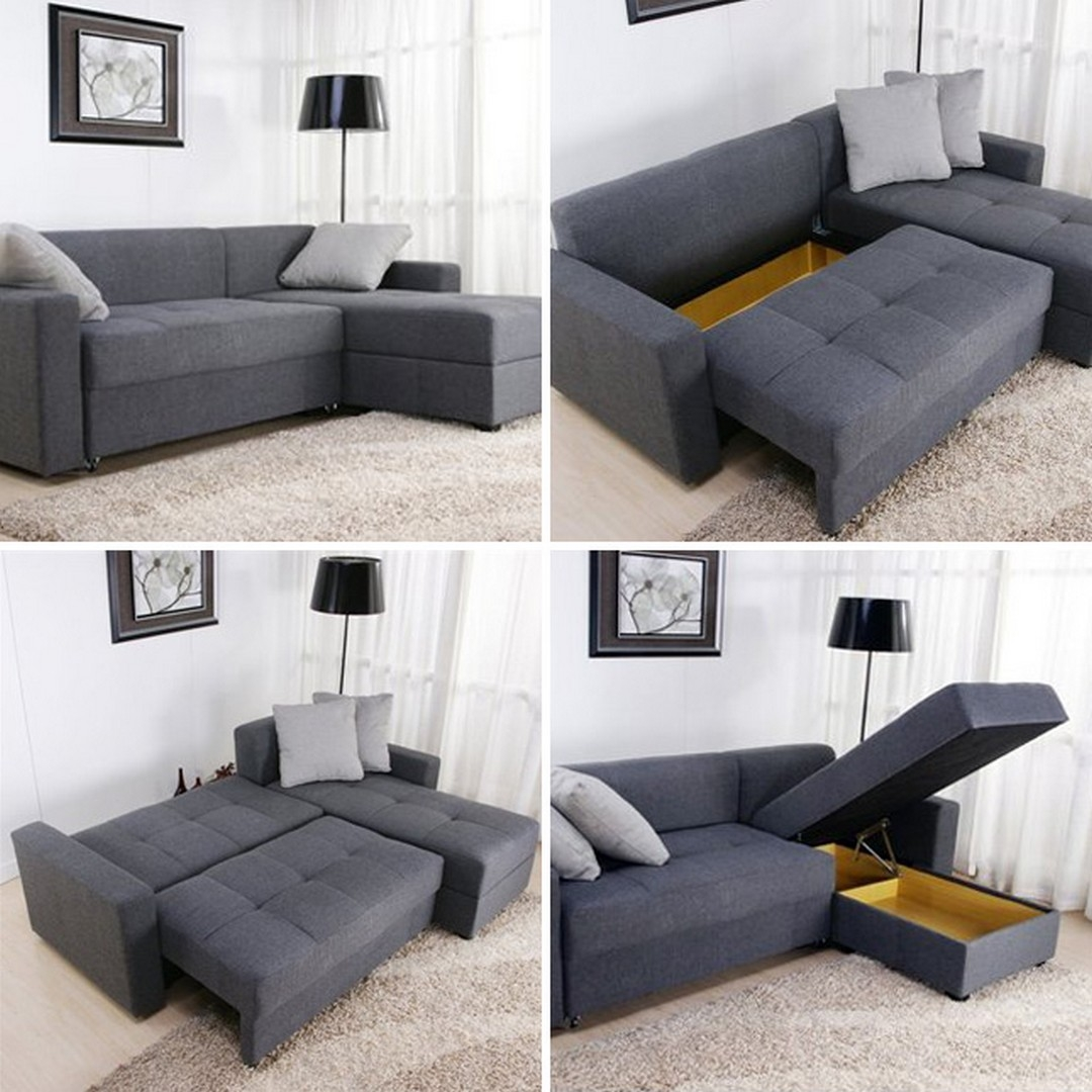 Bon Storage Sectional Sofa   Foter