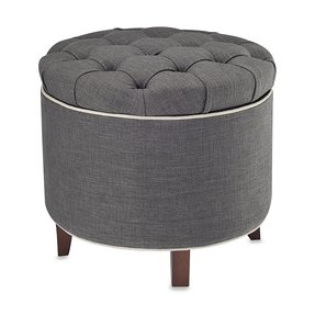 Tufted vanity stool