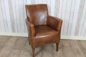 Small Leather Armchairs - Ideas on Foter