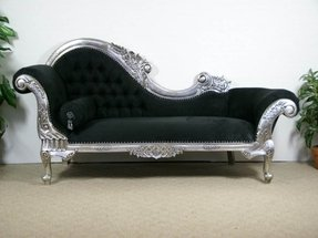 Antique Chaise Lounge Sofa Image And Candle Victimist Org