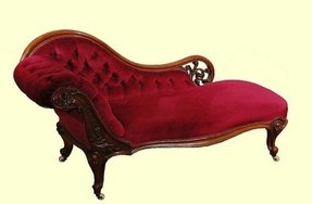 Vintage chaise
