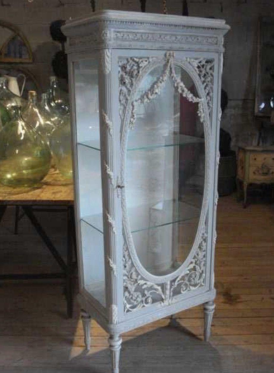Vintage Curio Cabinets 1