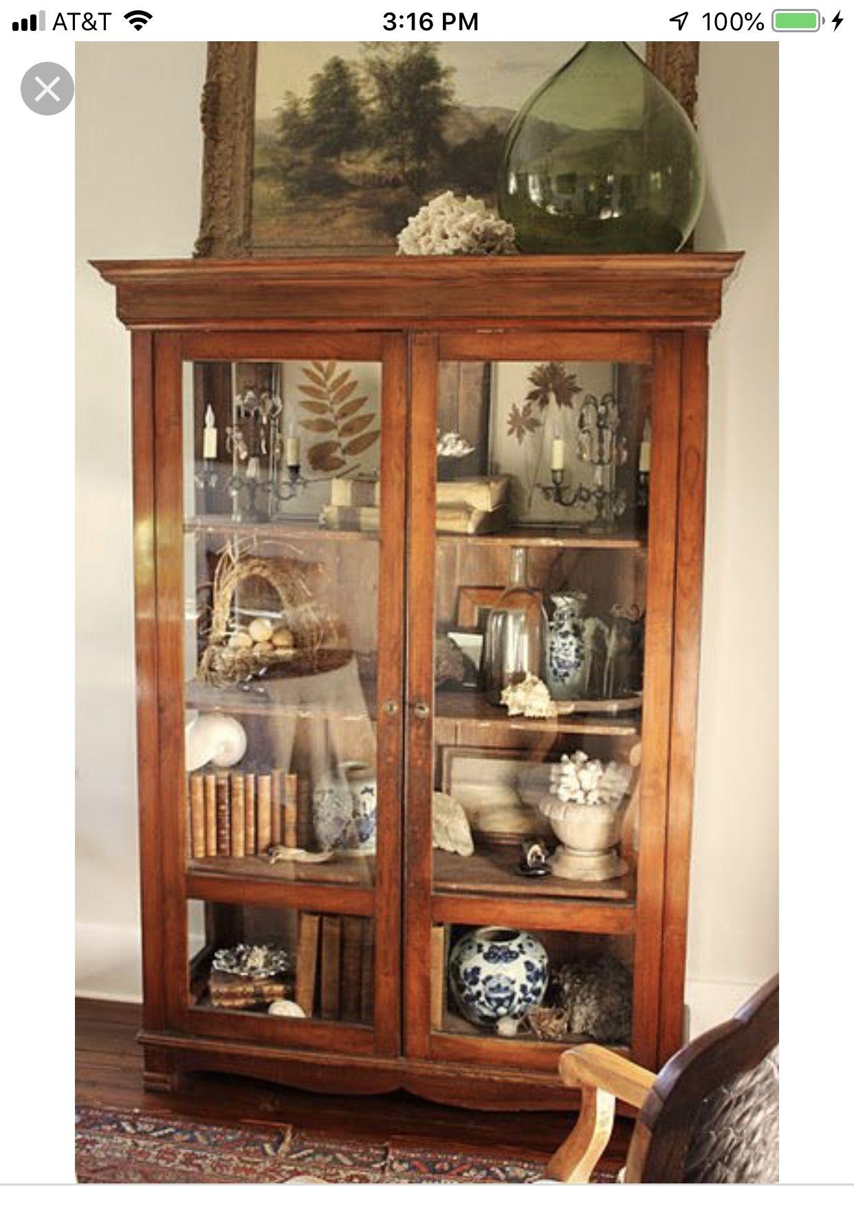 Vintage Curio Cabinets 2