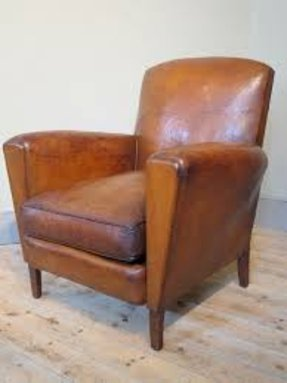Vintage Leather Armchairs - Foter
