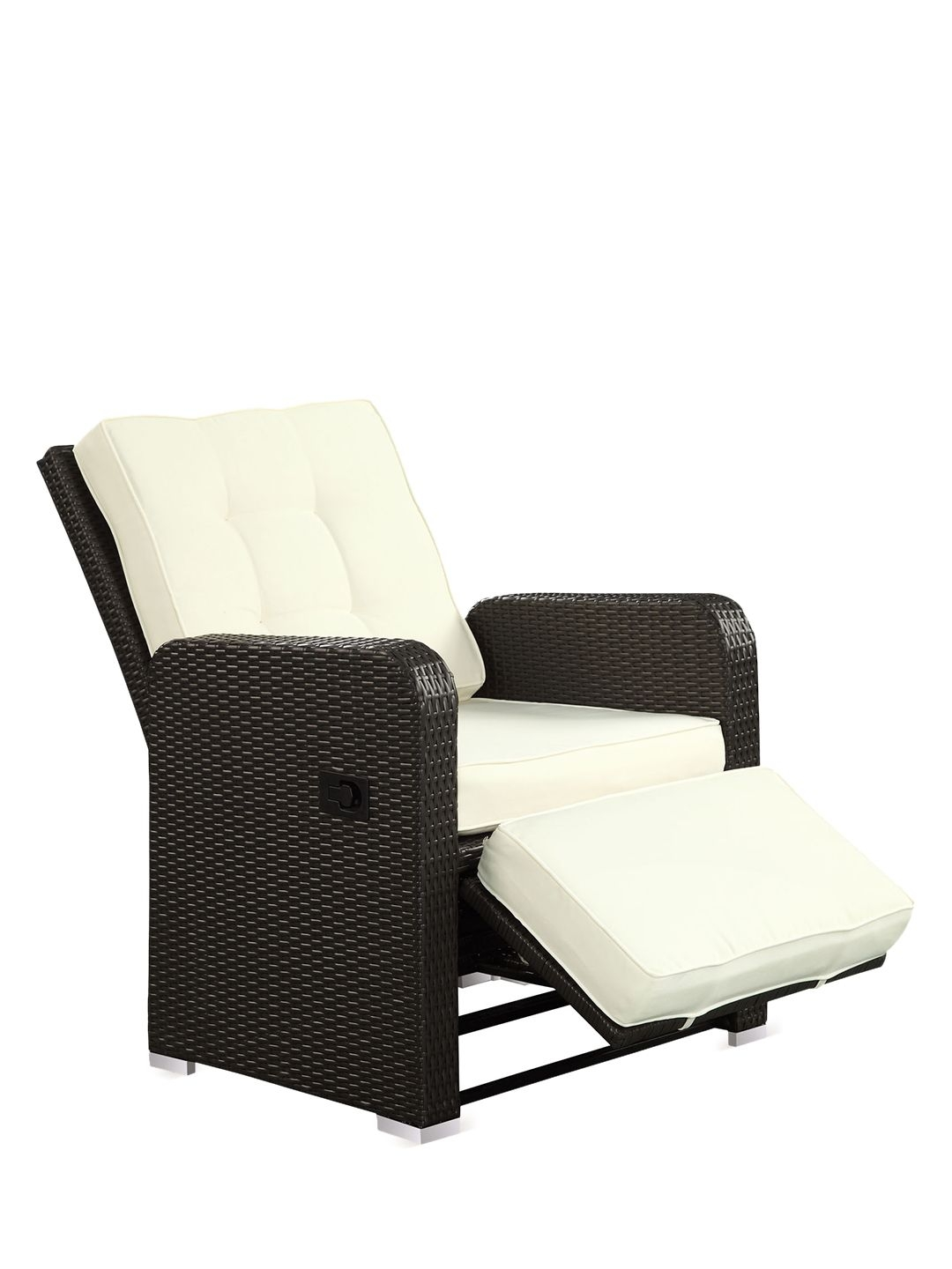Superbe Wicker Outdoor Patio Recliner