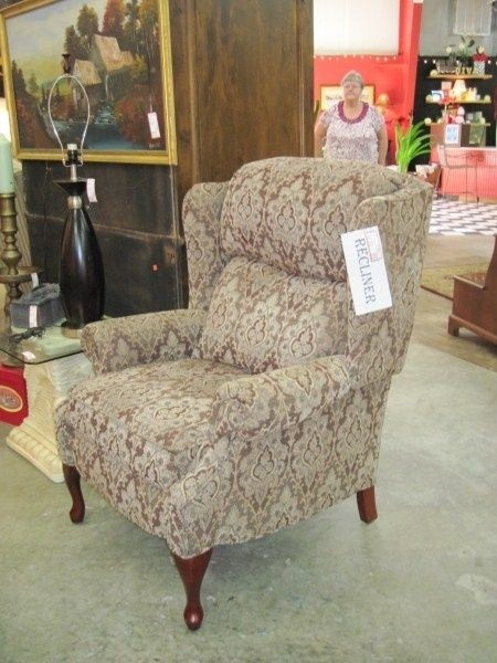 Wingback Chair Recliner 1