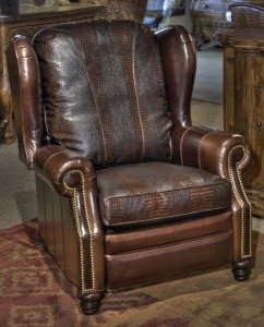 Marvelous Wingback Recliner Chair