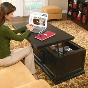 50 Incredible Adjustable Height Coffee Table Converts To
