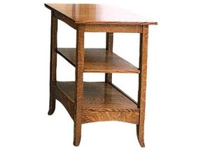 Amish shaker hill printer stand or end table amish end