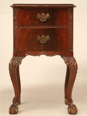 Antique Mahogany End Tables