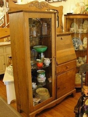 Curio Cabinet With Drawers Foter