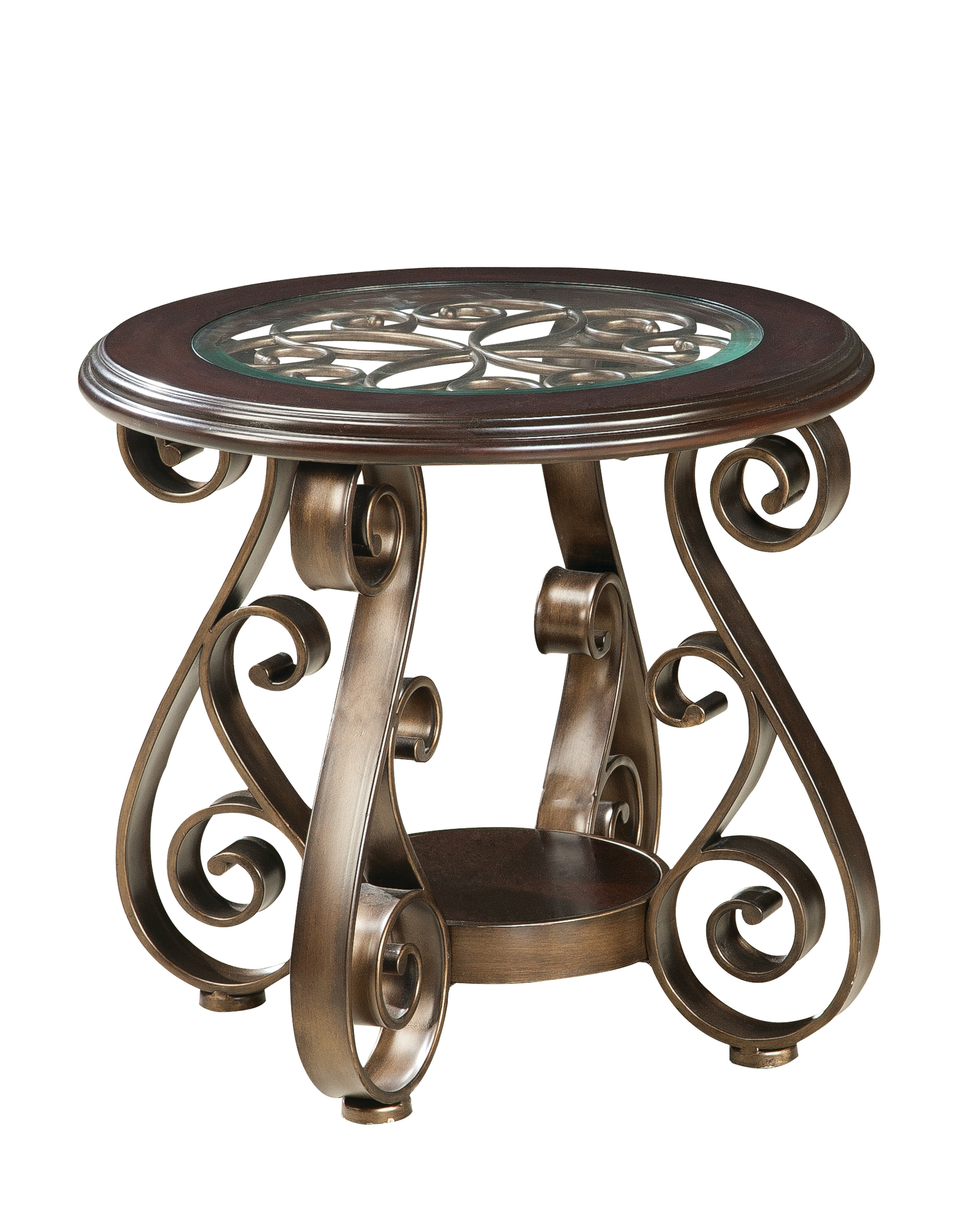 Antique Wooden End Tables