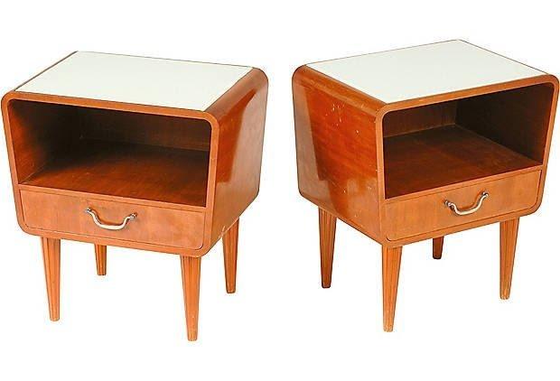 Art Deco End Tables 3
