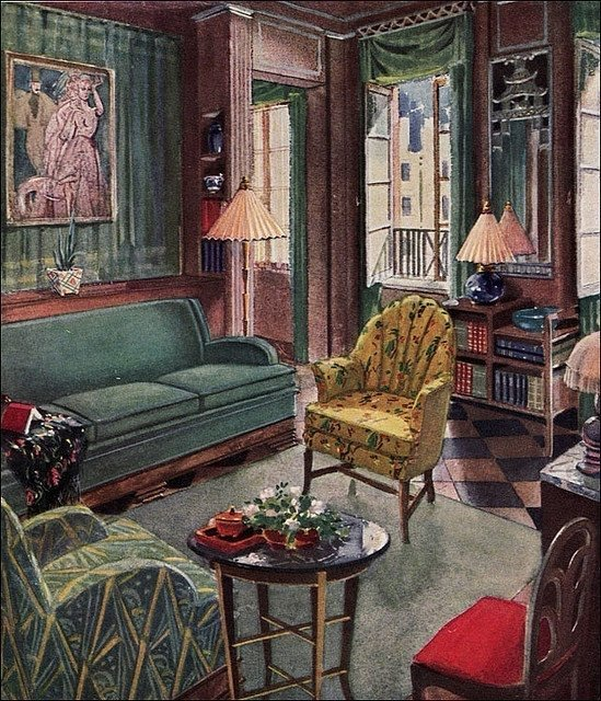 Art Deco Living Room Furniture 12