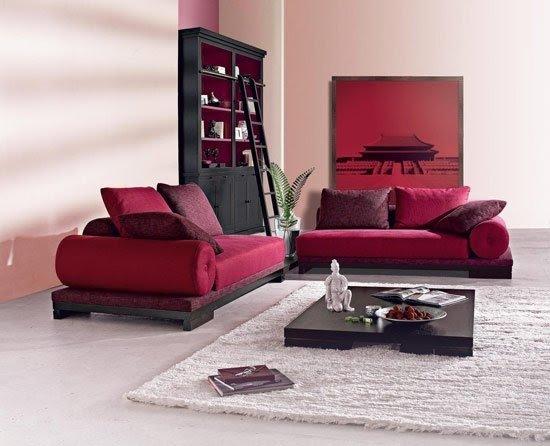 Asian Living Room 1