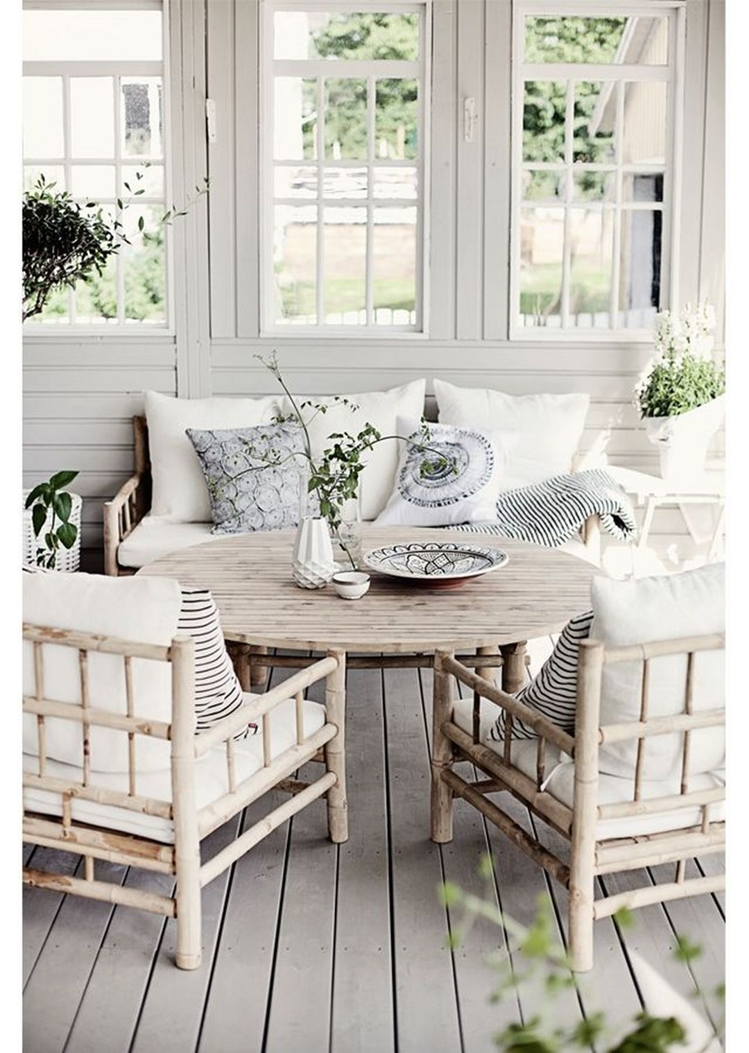 Superieur Bamboo Patio Chairs