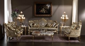 Baroque Living Room Furniture 2