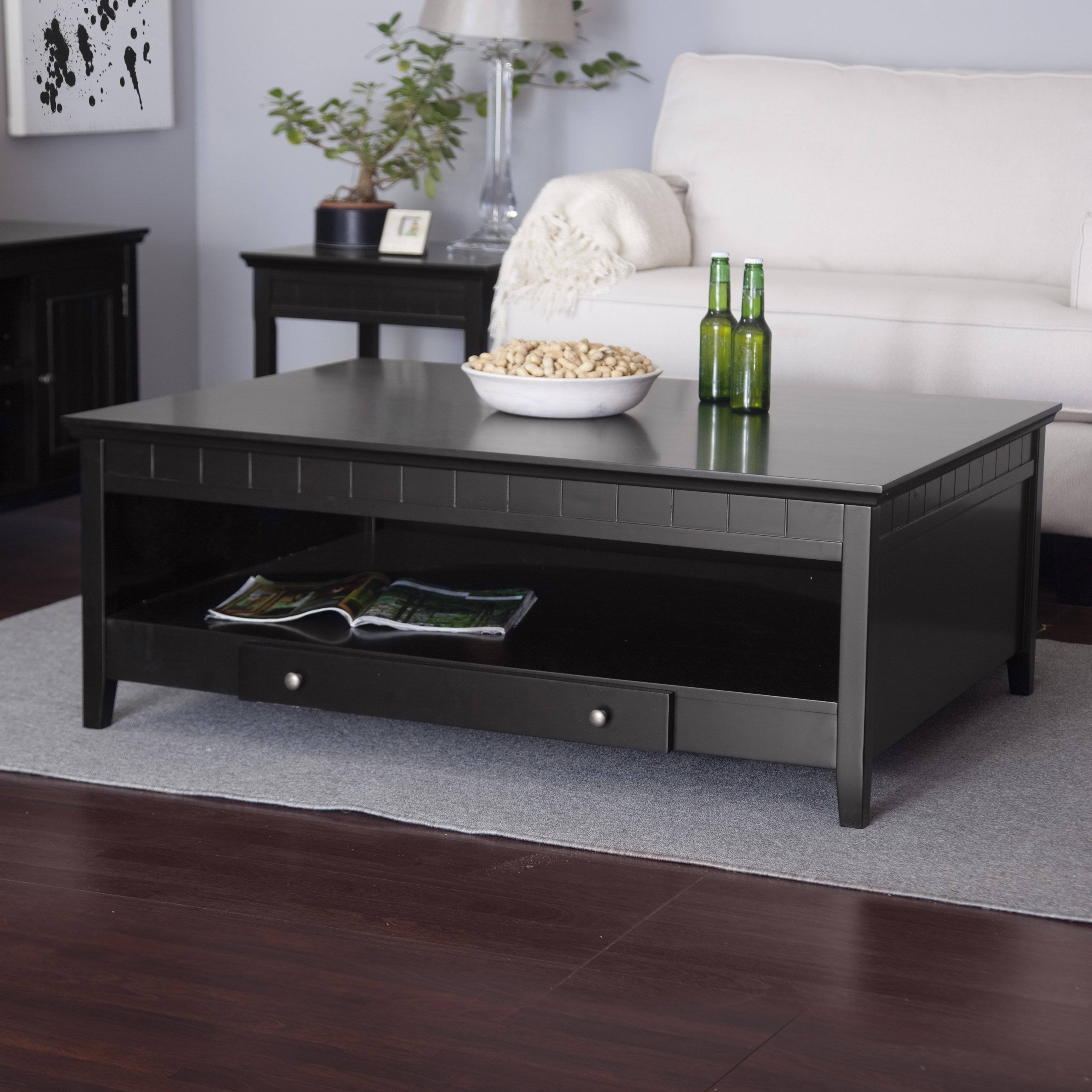 Delicieux Black Coffee Tables