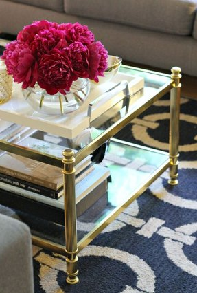 Brass coffee tables 2