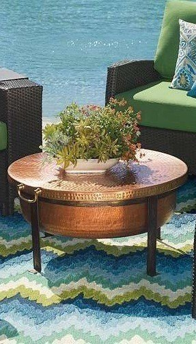 Bronze coffee tables 17