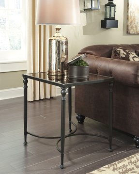 Bronze end tables 2