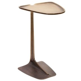 Bronze end tables