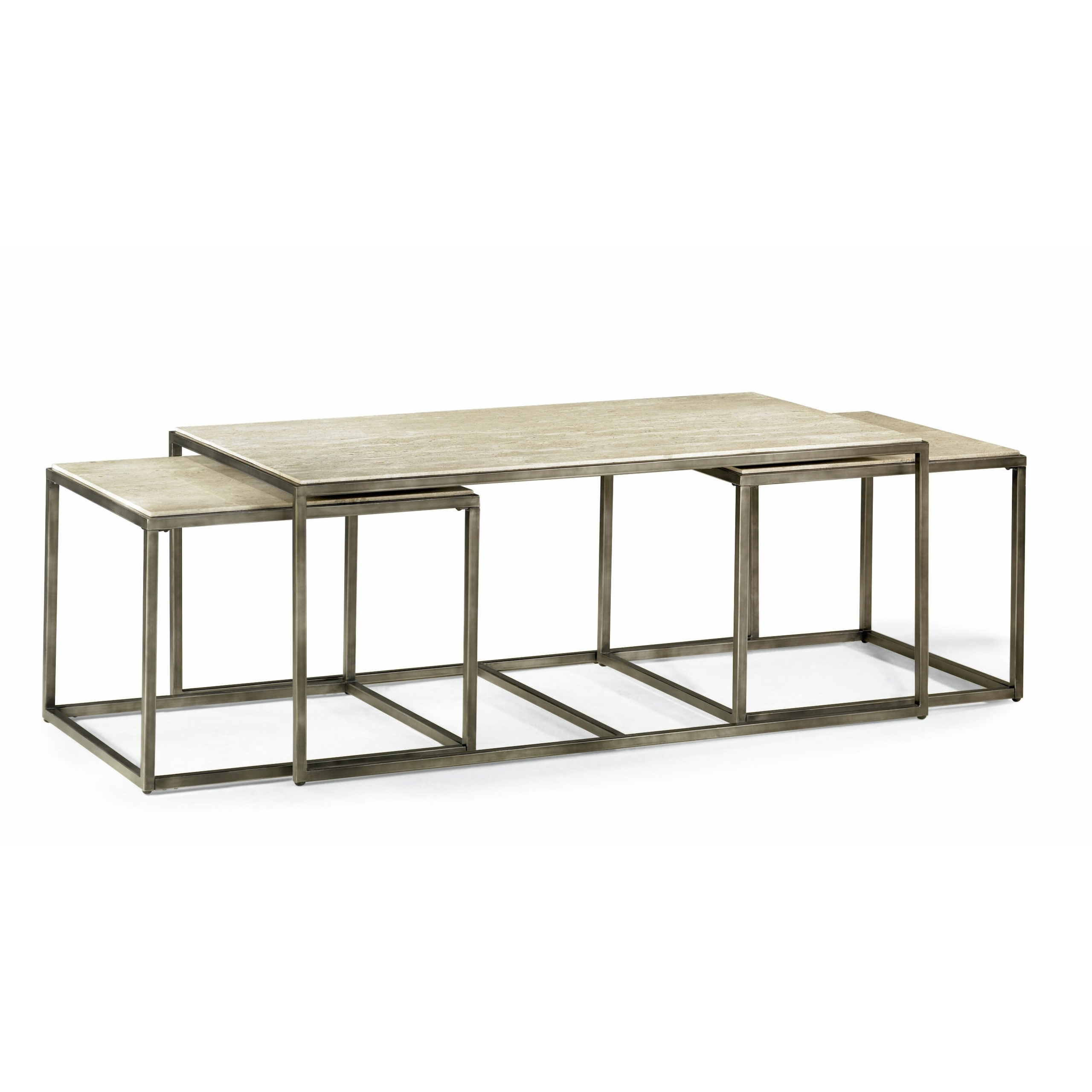 Bon Bronze Glass Coffee Table
