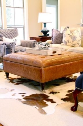 Leather Tufted Ottoman Coffee Table Ideas On Foter