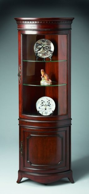Cherry Corner Curio Cabinet Ideas On Foter