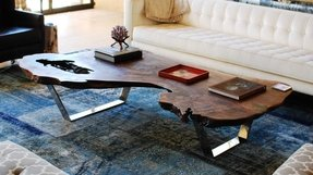 Chrome coffee tables 11