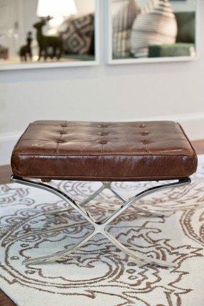 Superb Chrome Ottomans Ideas On Foter Pabps2019 Chair Design Images Pabps2019Com