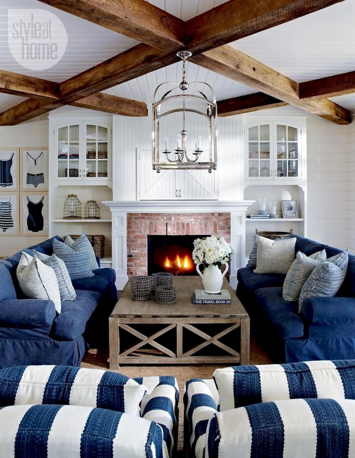 Denim Living Room Furniture Ideas On Foter