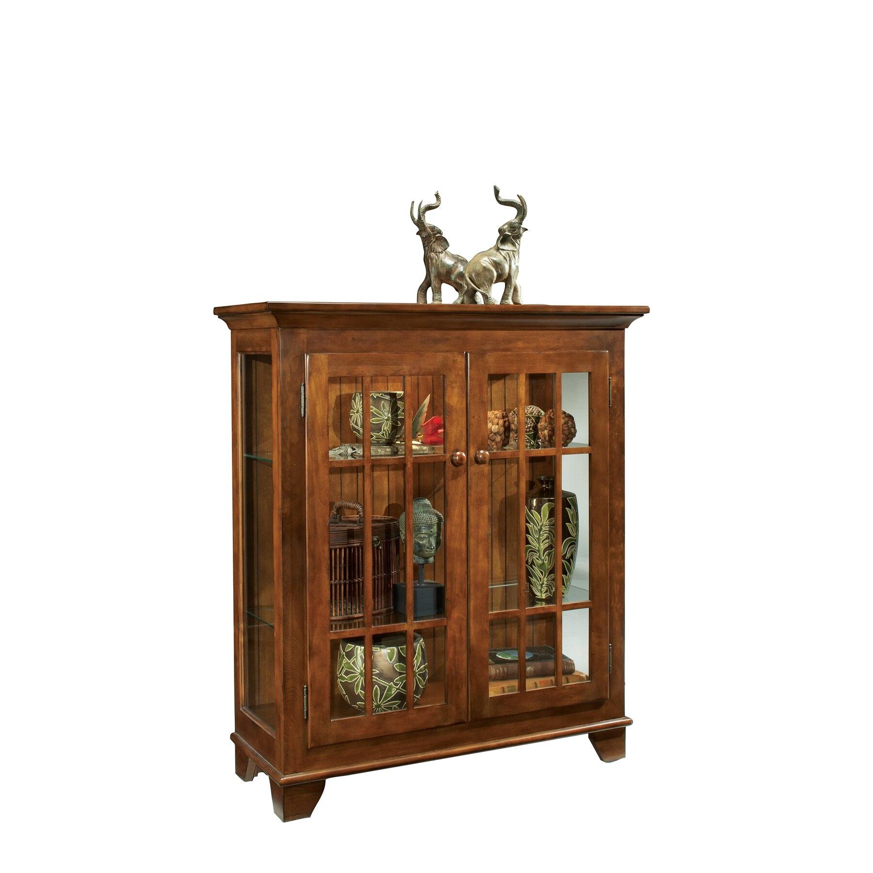 Console Curio Cabinets 20