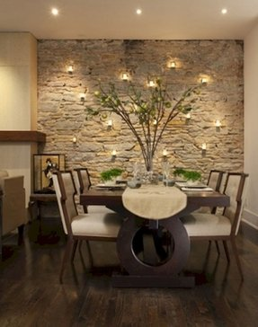 Contemporary candle wall sconces