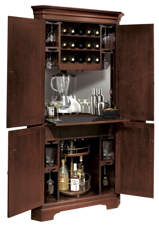 Ordinaire Corner Bar Cabinet   Foter