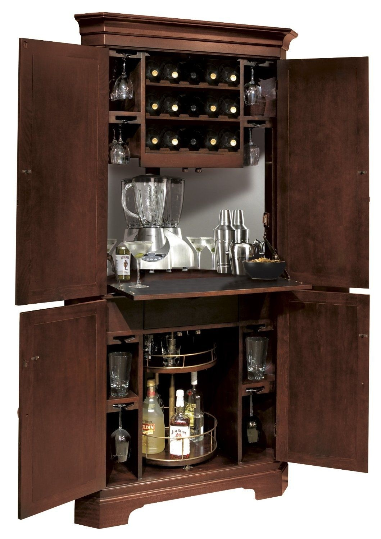 Charmant Corner Bar Cabinet   Ideas On Foter