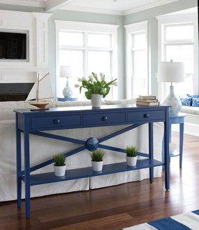 Cottage console table 1