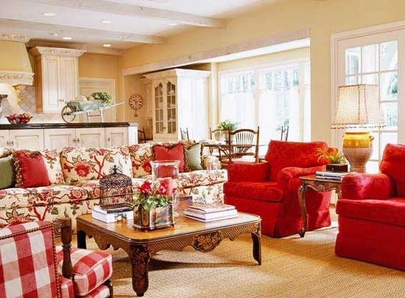 Country Cottage Living Room Furniture 1