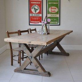 Cross Leg Table - Ideas on Foter