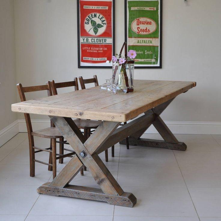 Genial Cross Leg Table