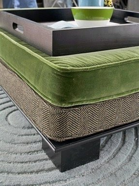 Cushion coffee table with storage 1