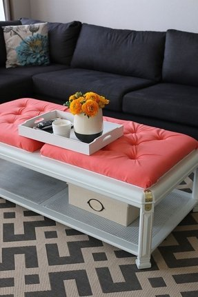 Cushion coffee table