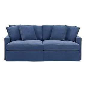Denim living room furniture 1