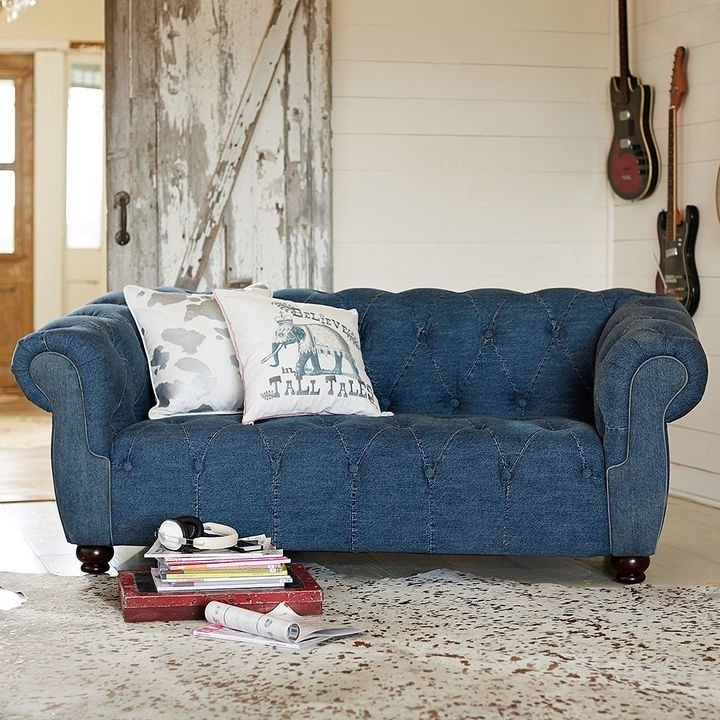 Denim Sectional