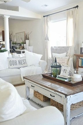 Diy a shabby chic coffee table for your house