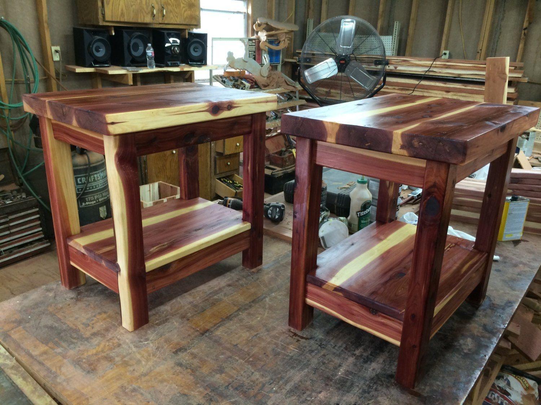 Bon End Table Night Stand Side Table Cedar