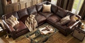 Faux leather sectionals 2