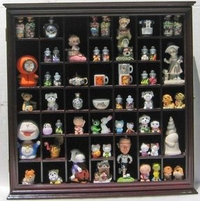 Figurine display case