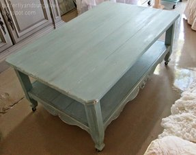 French country coffee tables