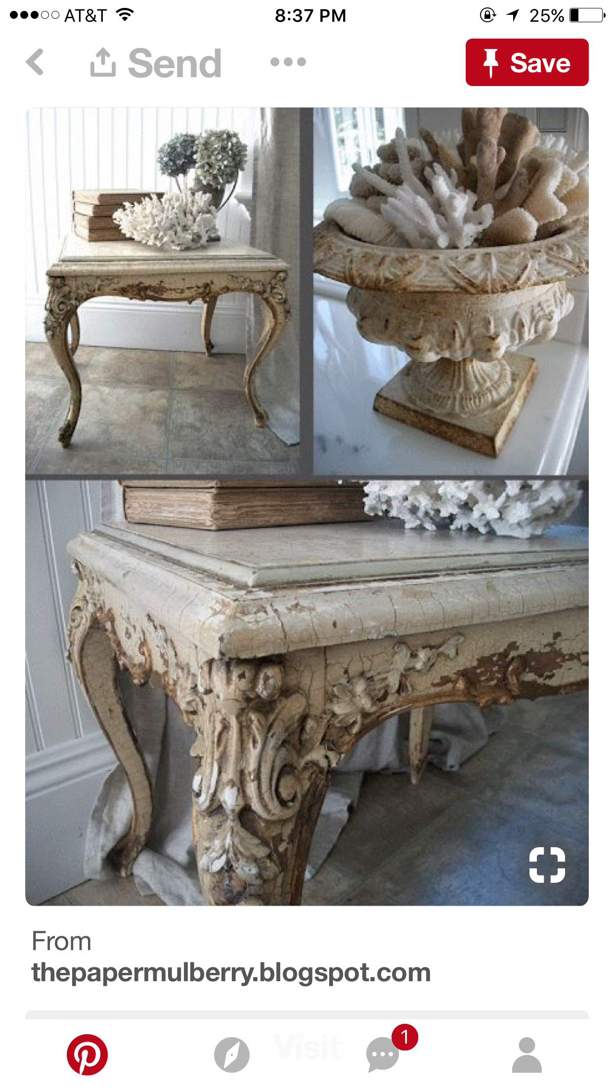 French Country End Tables 1